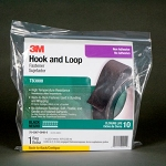 TB3000 3M(TM) Fastener TB3000 Hook/Loop Black, 1 in x 10 ft