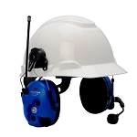 MT7H7P3E4010-NA-50 3M(TM) Peltor(TM) Lite-Com Pro II Two Way Radio Headset, Communications Headset Hard Hat