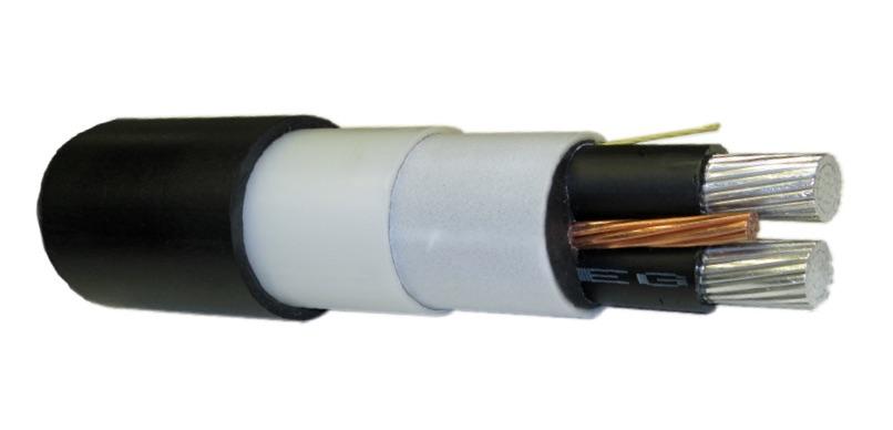 QXU072A Draka Cableteq 600 Volt AIRGUARD 2 Conductor Copper Low ...