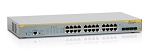 AT-x210-24GT-10 Standalone Enterprise Edge Switch 20 x 10/100/1000T + 4 SFP combo