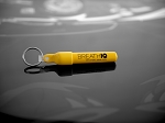 BreathIQ.04 BAC Alcohol Indicator, including imprintable Key Fob container