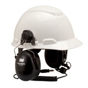 MT7H79P3E  3M(TM) Peltor(TM) MT Series(TM) Hard Hat Model Headset, Two-Way Communications Headset