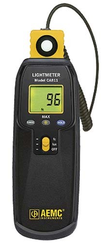 AEMC-CA811 LIGHT METER 20fc to 20k LUX