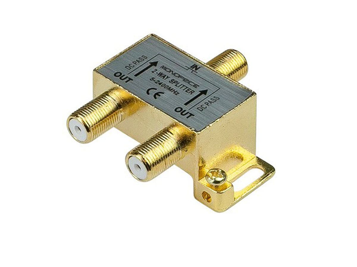 10013 Monoprice - 2-Way Coaxial Splitter