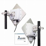 AVL-AW49200HTP-PAIR 4.9 GHz Outdoor 200 Mbps Wireless Ethernet Bridge